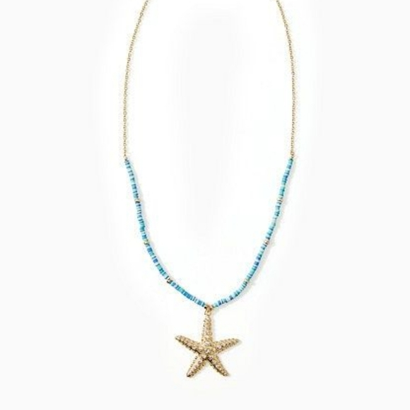 Lilly Pulitzer Seaside Vibes Starfish Necklace